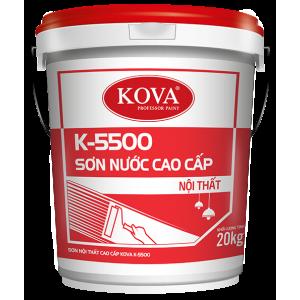 Sơn nước nội thất bán bóng cao cấp KOVA K-5500