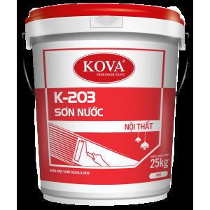 Sơn nước nội thất không bóng KOVA K-203