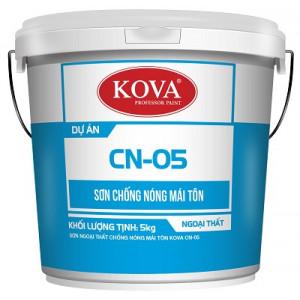 Sơn ngoại thất chống nóng mái tôn KOVA CN-05