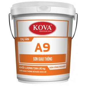 Sơn giao thông hệ nước Kova A9